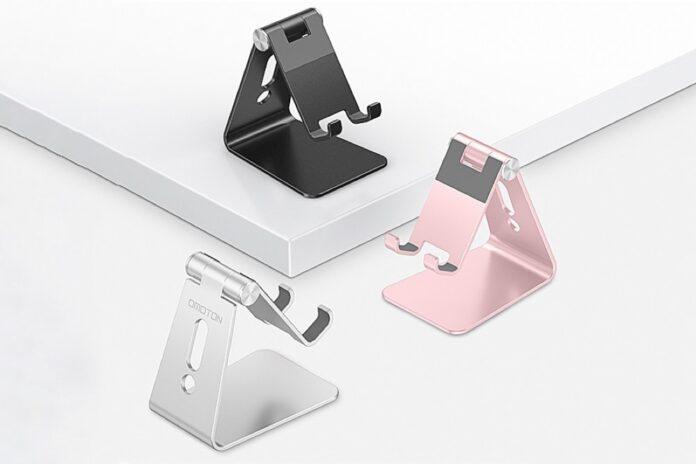 OMOTON C2 Aluminum Desktop Phone Holder