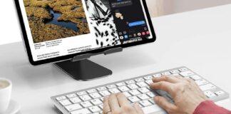 OMOTON Wireless Bluetooth Keyboard