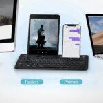 RAPOO XK100 Multi-Device Bluetooth Keyboard