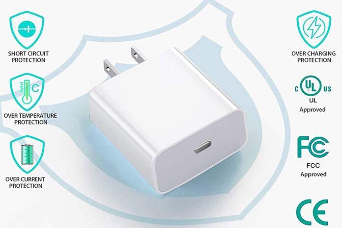 TrimDish 20W USB C Charger