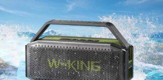 W-KING 60W Waterproof Portable Speaker