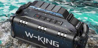 W-KING IPX6 Waterproof Portable Bluetooth Speaker