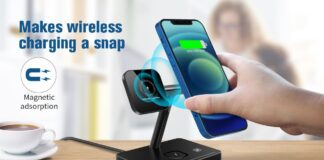 WAITIEE 3 in 1 Magnetic Wireless Charger