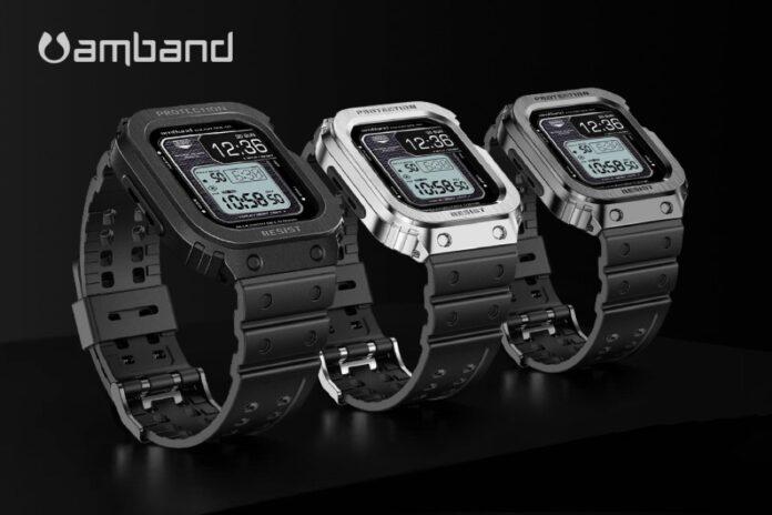 amBand Apple Watch Band Case