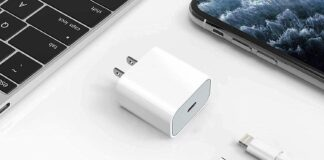 wabklove 20W PD Fast Charger Type C Power Wall Charger Block